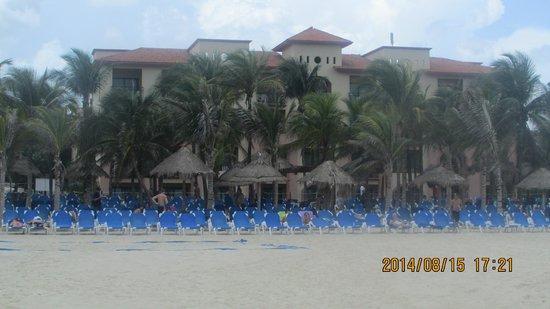 Sandos Playacar Beach Resort : desde el mar