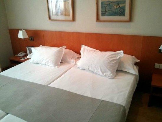 Silken St. Gervasi Hotel: Beds