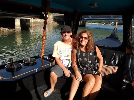 Sofitel Noosa Pacific Resort: Gondola river ride