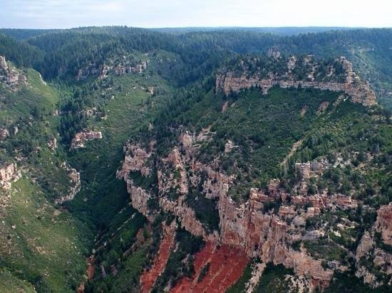 Papillon Grand Canyon Helicopters: north rim