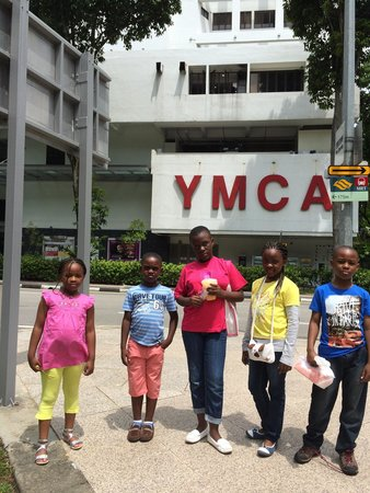 YMCA One Orchard: Kids at S'pore YMCA