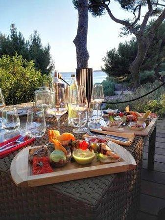 La Villa Madie : Les planches gourmandes salées
