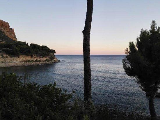 La Villa Madie : La vue depuis la terrasse du Bar Bleu