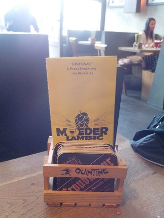 Moeder Lambic Fontainas : Welcome