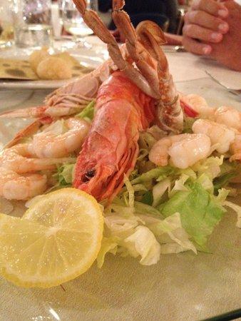 Re Ferdinando : Delicious salad