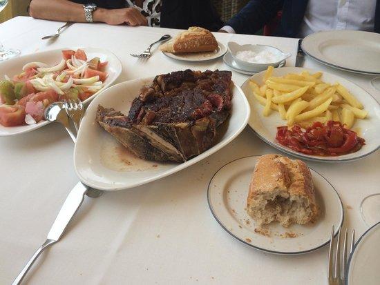 Restaurante Kate Zaharra: Chuletón