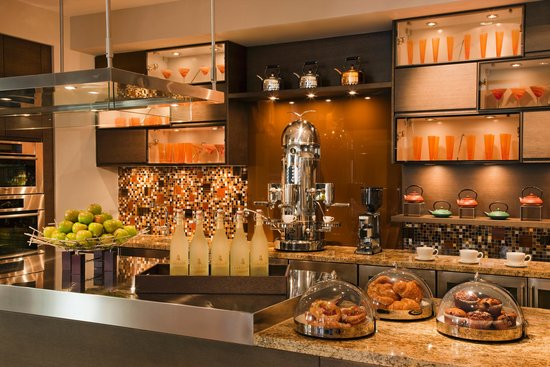 AT&T Executive Education and Conference Center: Visit One Twenty 5 Cafe for your morning coffee, breakfast taco and snacks