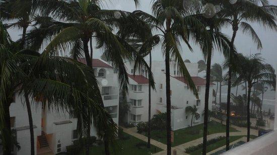 Marival Resort & Suites: Vista desde la habitación.