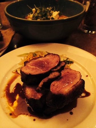 Cashion's Eat Place: The duck with duck reduction was ducky!!