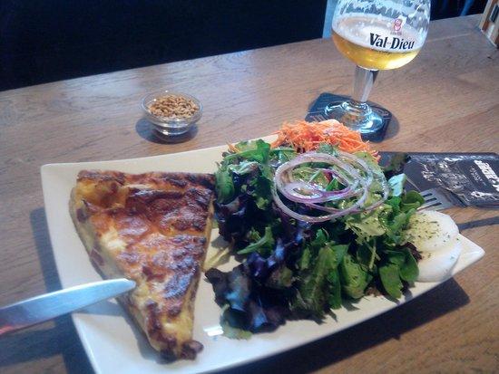 Moeder Lambic Fontainas : Classic + salad