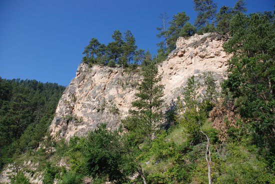 Spearfish Canyon Scenic Byway : Spearfish Canyon, view 1
