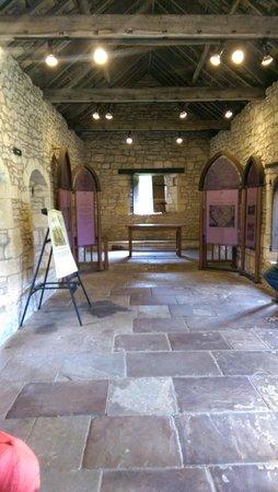 Pickering Castle: Inside the chapel
