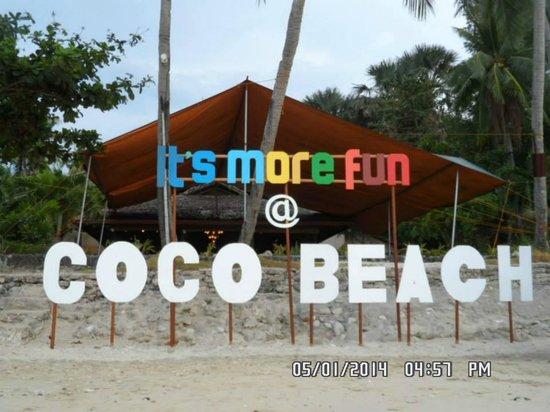 Coco Beach Island Resort: The Coco Beach Facade