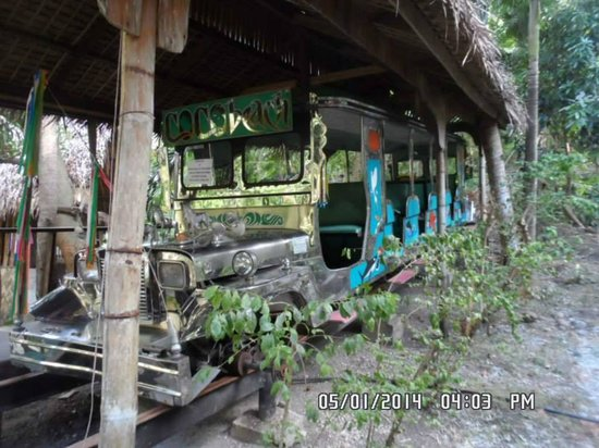"Coco Beach Resort: The Jeepney ""train"" to bring you to the Silent Pool"
