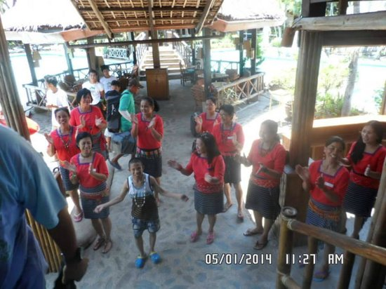 The Welcoming Party of Coco Beach Resort