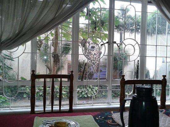 Nairobi Airport Stop Over House: sala colazione