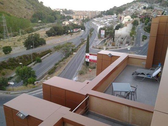 Hotel Macia Real de la Alhambra: Vistas dirección sur-Oeste