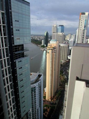 Meriton Serviced Apartments Brisbane on Adelaide Street: view