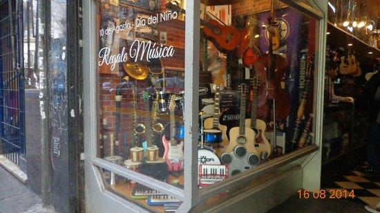 lojas de instrumentos musicais foto de palermo soho buenos aires