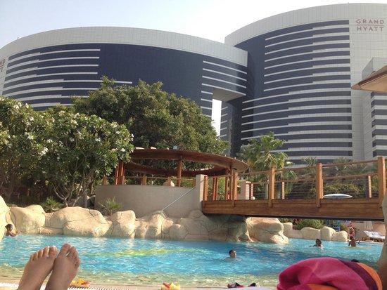 Grand Hyatt Dubai: Piscine