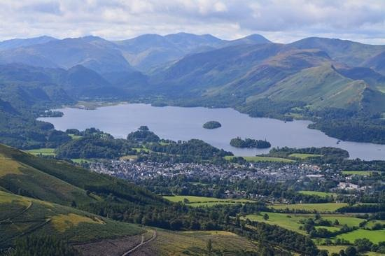 Allerdale House Keswick: View as we climbed Skiddaw