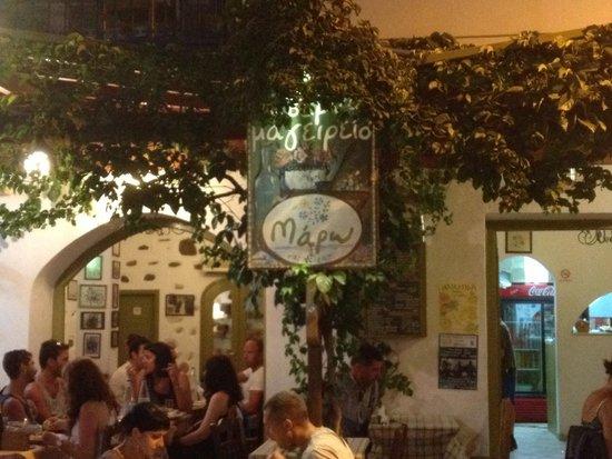 Maro's Taverna: Ecco la taverna