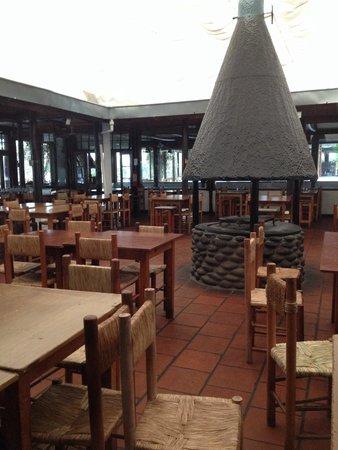 Comedor interior Parrilladas Argentinas de Malloco.