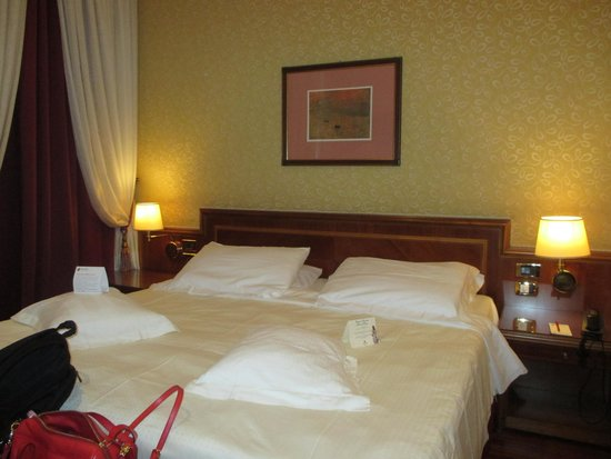 Hotel Berna: room on the first floor