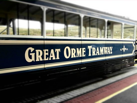 The Great Orme Tramway. Llandudno. Wales
