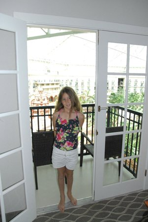 Gaylord Palms Resort & Convention Center: at the balcony door