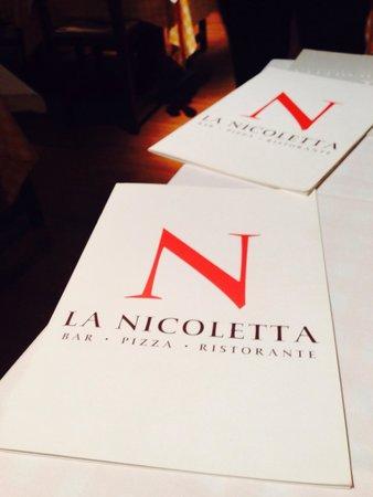 La Nicoletta Bilbao: Menu