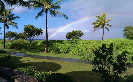 Honua Kai Resort & Spa: Rainbow view from Duke's