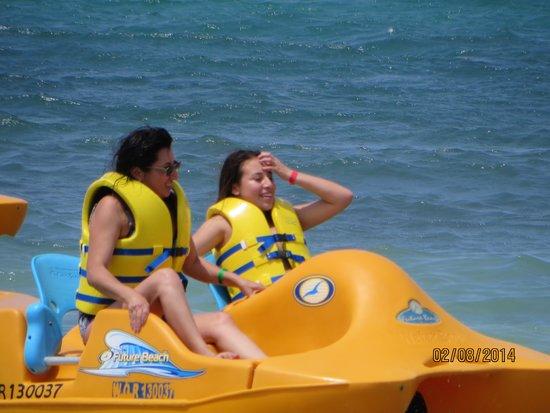 Royal Decameron Club Caribbean: Las embarcaciones menores