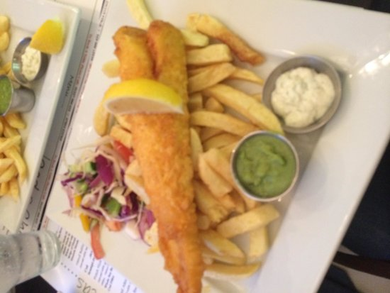 Mushy Peas: Best cod in town