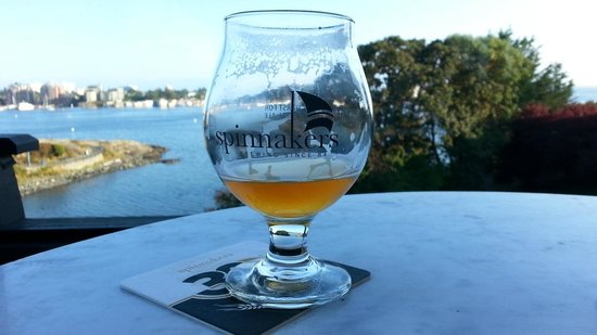 Spinnakers Brewpub and Guesthouses : It doesn't get better than this!