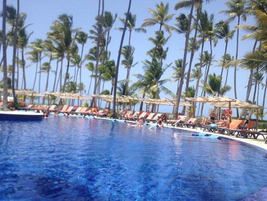 Barcelo Bavaro Beach - Adults Only : la piscina y el bar