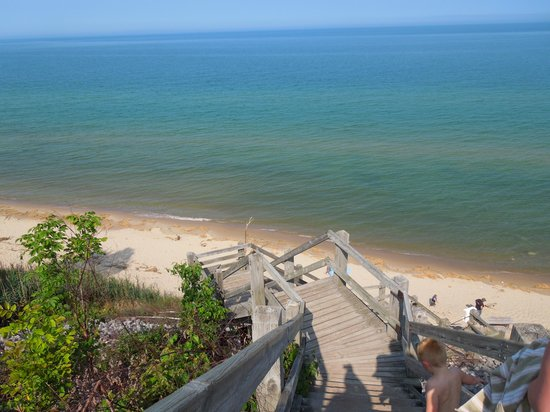 Orchard Beach State Park, Manistee, Michigan - YouTube