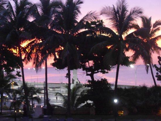 Hotel Nacional de Cuba: lovely sunsets
