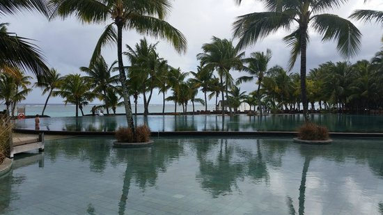 Trou aux Biches Beachcomber Golf Resort & Spa: view towards ocean