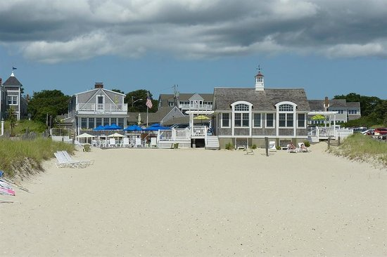Inn on the Beach - from the beach!
