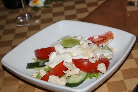 Chonos Hotel : chicken salad