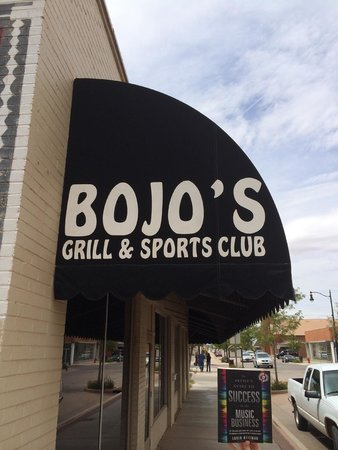 Bojo's Grill & Sports Club : A great stop on the book tour. Great food, wonderful people and a cool menu