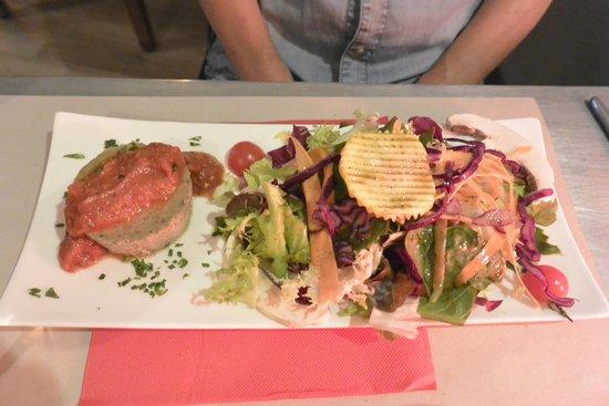 La Cuisine des Anges : scrumptious fish starter