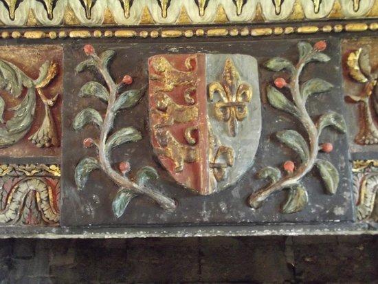 Chateau de Goulaine : lo stemma di famiglia