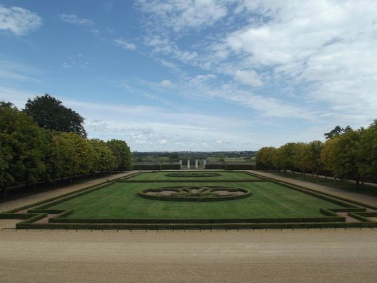 Chateau de Goulaine : giardino ,non visitabile