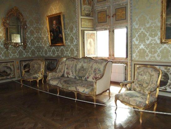 Chateau de Goulaine : arredamento di una delle sale