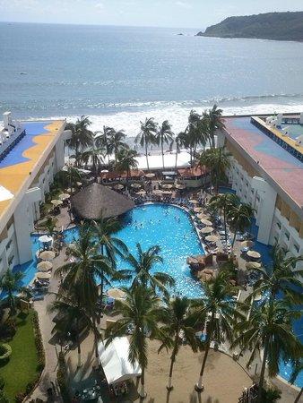 El Cid Castilla Beach Hotel: Hermosa vista desde la habitacion.