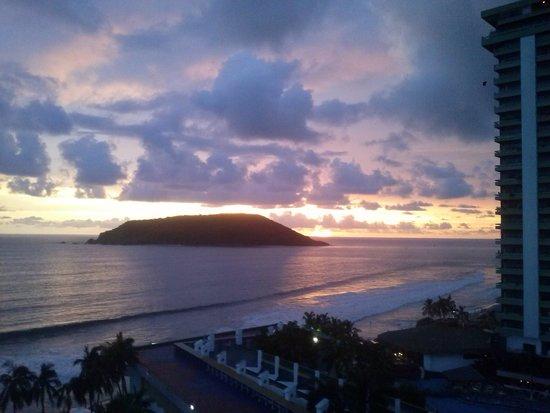 El Cid Castilla Beach Hotel: Atardecer en Mazatlan.