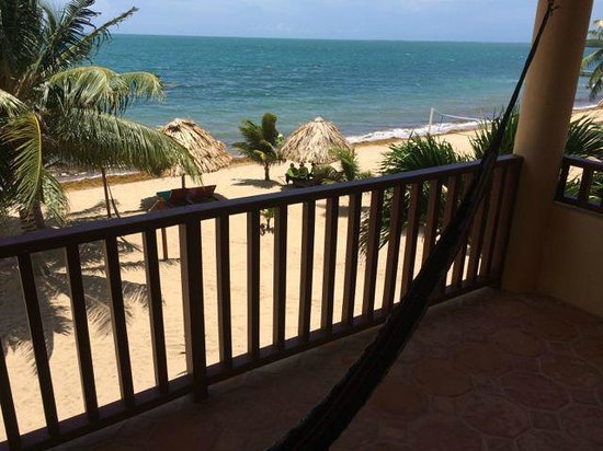 Belizean Dreams: View from room 1A