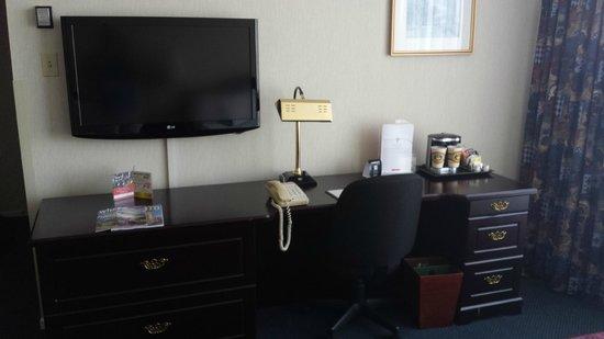 International Plaza Hotel Toronto Airport : Desk in room